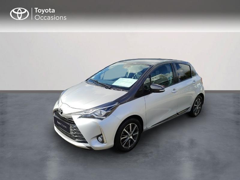 Toyota Yaris 110 VVT-i Design Y20 CVT 5p MY19 Essence gris clair Occasion à vendre