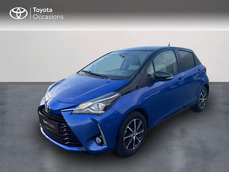 Toyota Yaris 110 VVT-i Design 5p RC18 Essence Bleu Clair Métal Occasion à vendre
