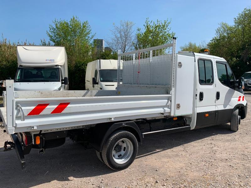 Photo 9 de l'offre de IVECO 35c14 DOUBLE CABINE 6 PLACES BENNE+COFFRE CLIM AUTO à 32400€ chez ABVI Montpellier