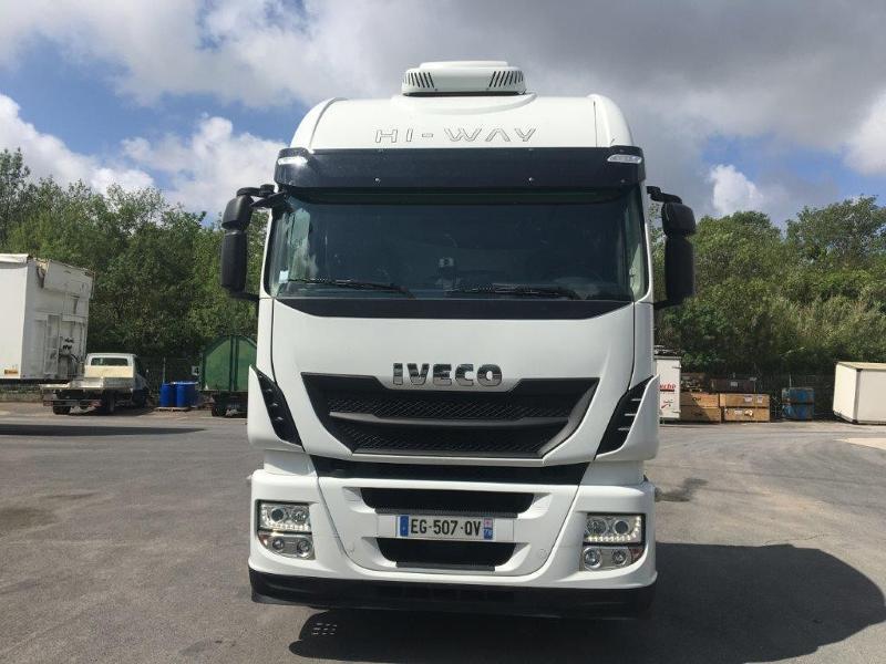 Photo 2 de l'offre de IVECO Stralis 460cv BAV CLIM RALENTISSEUR HYDRAULIQUE à 839€ chez ABVI Montpellier