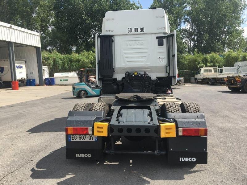 Photo 6 de l'offre de IVECO Stralis 460cv BAV CLIM RALENTISSEUR HYDRAULIQUE à 839€ chez ABVI Montpellier