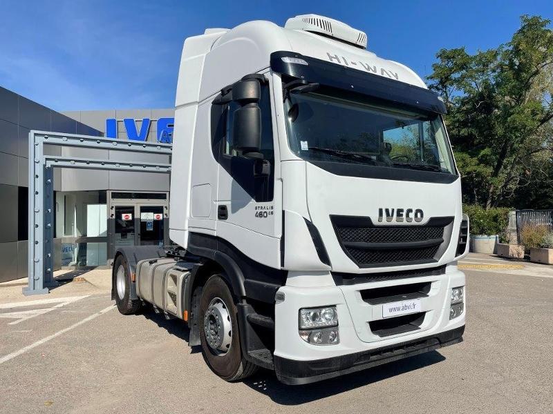 Iveco Stralis 460CV BVA RALENTISSEUR CLIM ET FRIGO Diesel Blanc Occasion à vendre