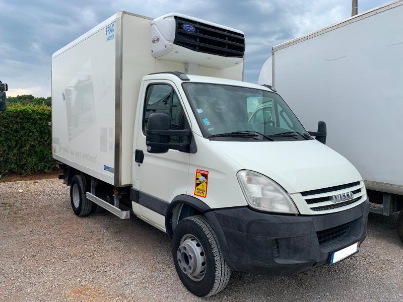 Photo 1 de l'offre de IVECO 65c14 GAZ FRIGO + HAYON à 15000€ chez ABVI Montpellier
