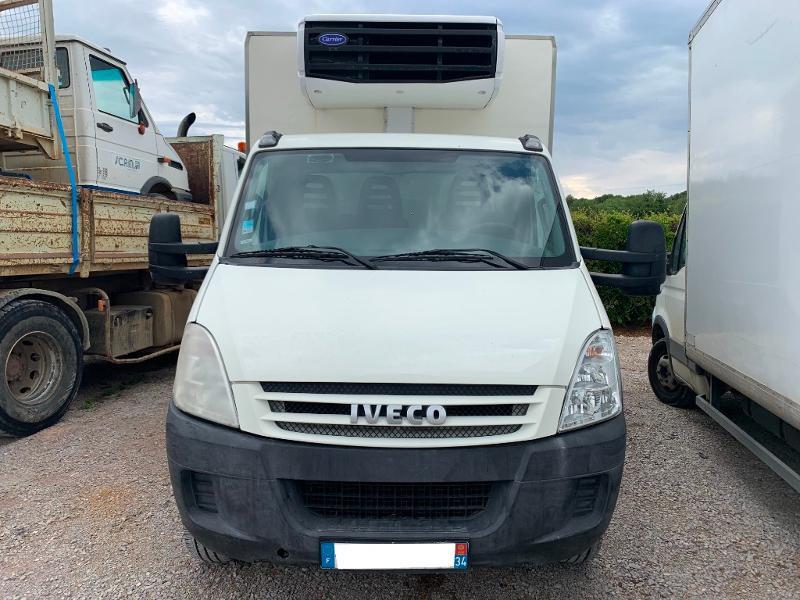 Photo 2 de l'offre de IVECO 65c14 GAZ FRIGO + HAYON à 15000€ chez ABVI Montpellier