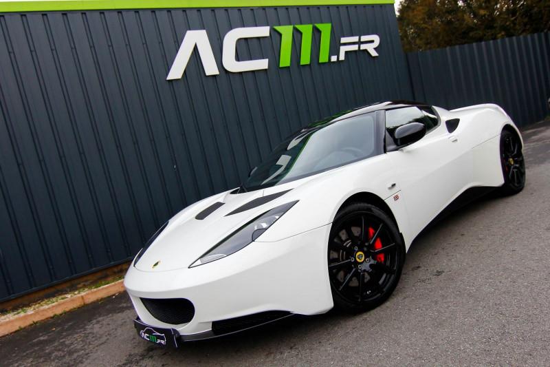 Lotus EVORA SPORT RACER 2+2 IPS Essence BLANC Occasion à vendre