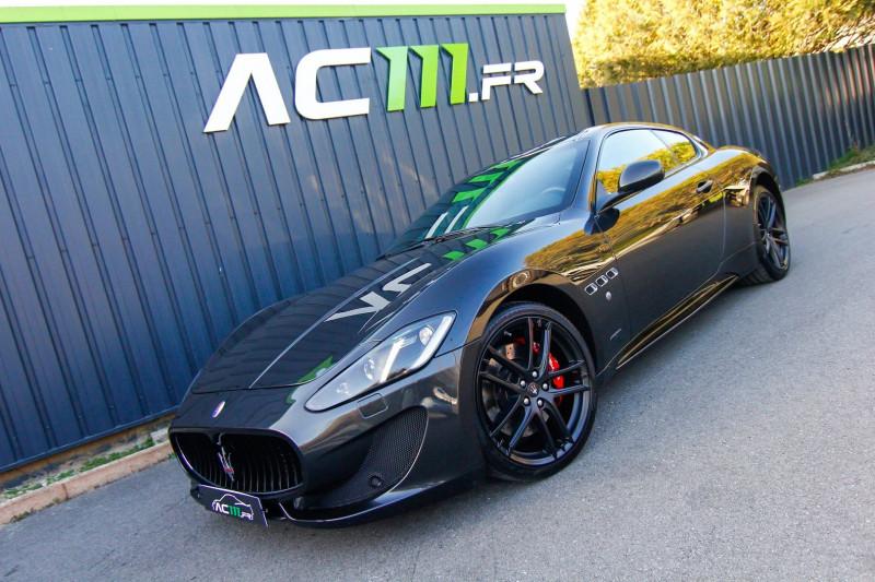 Maserati GRANTURISMO 4.7 460CH SPORT BVR Essence GRIS F Occasion à vendre