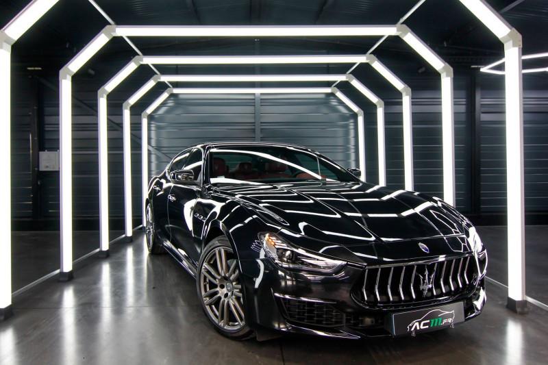 Maserati GHIBLI 3.0 V6 275CH DIESEL GRANDLUSSO Diesel NOIR Occasion à vendre