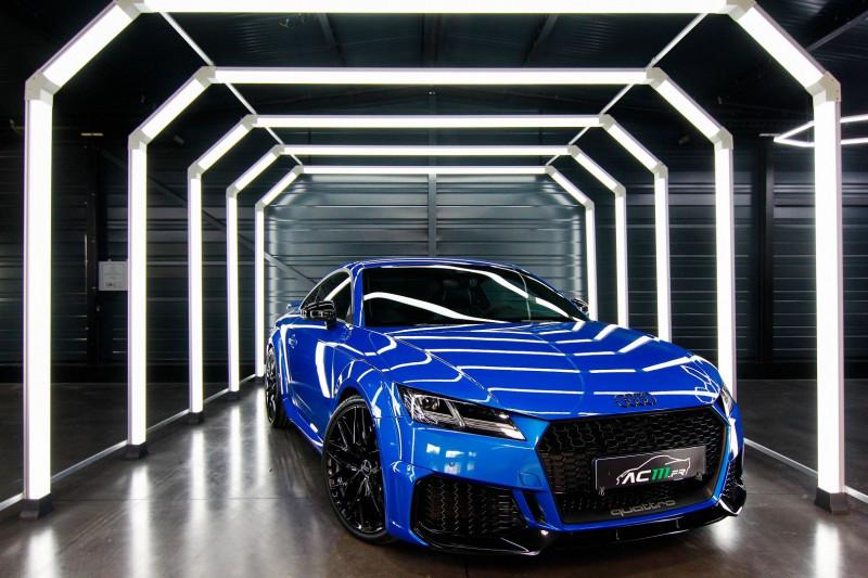 Audi TT RS 2.5 TFSI 400CH QUATTRO S TRONIC 7 Essence BLEU Occasion à vendre
