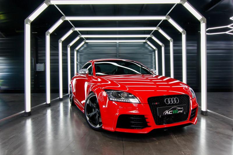 Audi TT RS 2.5 TFSI 340CH QUATTRO Essence ROUGE Occasion à vendre