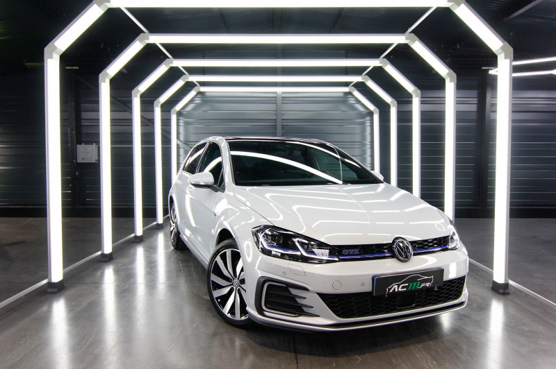 Volkswagen GOLF VII 1.4 TSI 204CH GTE DSG6 5P Hybride BLANC Occasion à vendre