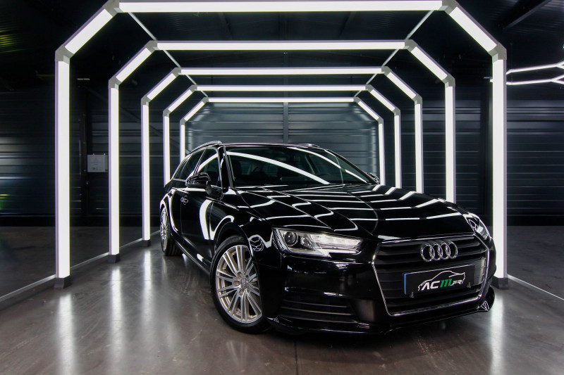 Audi A4 AVANT 2.0 TFSI 190CH ULTRA DESIGN S TRONIC 7 Essence NOIR Occasion à vendre