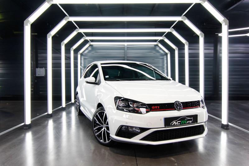 Volkswagen POLO 1.8 TSI 192CH BLUEMOTION TECHNOLOGY GTI DSG7 3P Essence BLANC Occasion à vendre