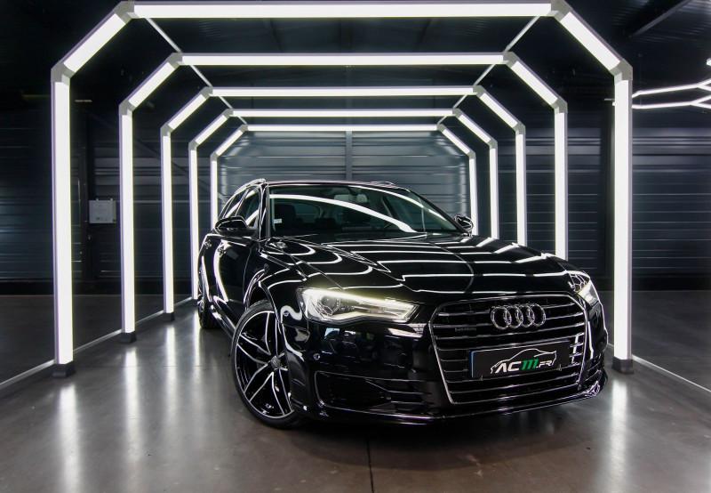 Audi A6 AVANT 3.0 V6 TDI 272CH BUSINESS LINE QUATTRO S TRONIC 7 Diesel NOIR Occasion à vendre