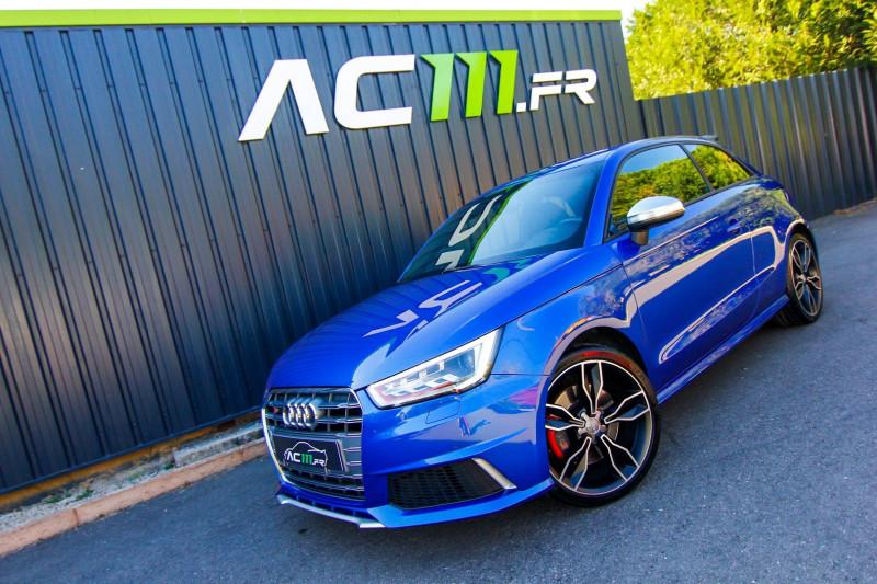 Audi S1 2.0 TFSI 231CH QUATTRO Essence BLEU C Occasion à vendre