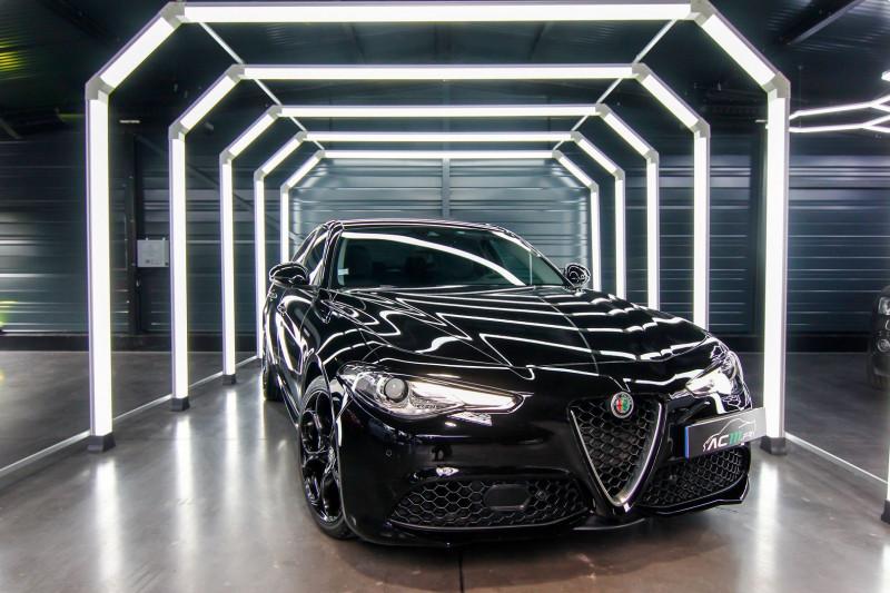 Alfa Romeo GIULIA 2.0 TB 280CH VELOCE Q4 AT8 Essence NOIR Occasion à vendre
