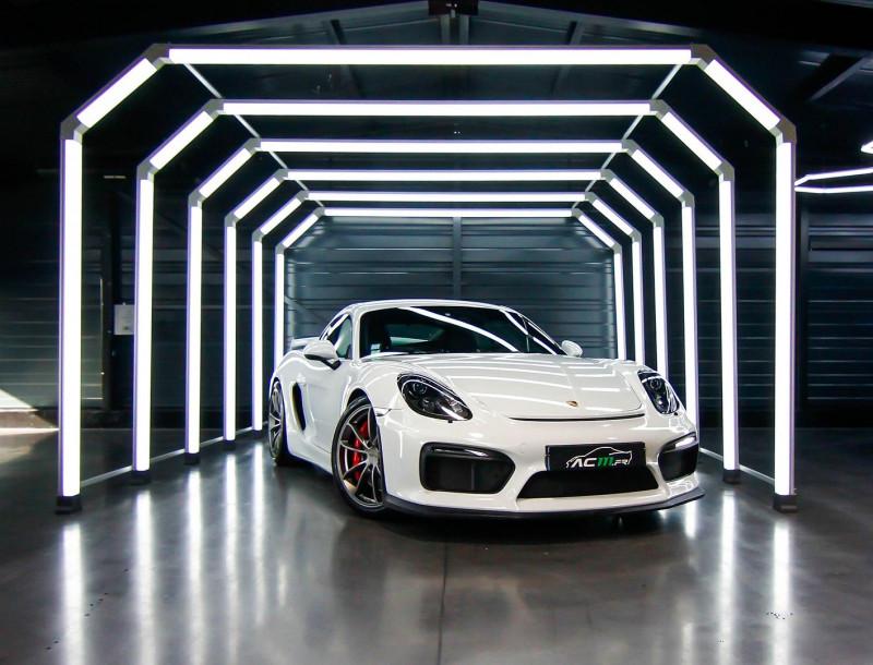 Porsche CAYMAN (981) 3.8 385CH GT4 Essence BLANC Occasion à vendre