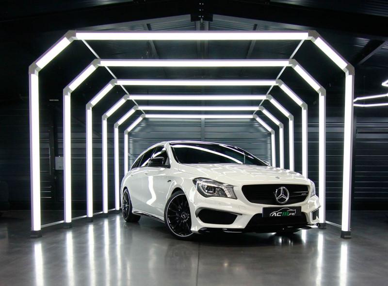 Mercedes-Benz CLA SHOOTING BRAKE 45 AMG 4MATIC SPEEDSHIFT DCT Essence BLANC Occasion à vendre