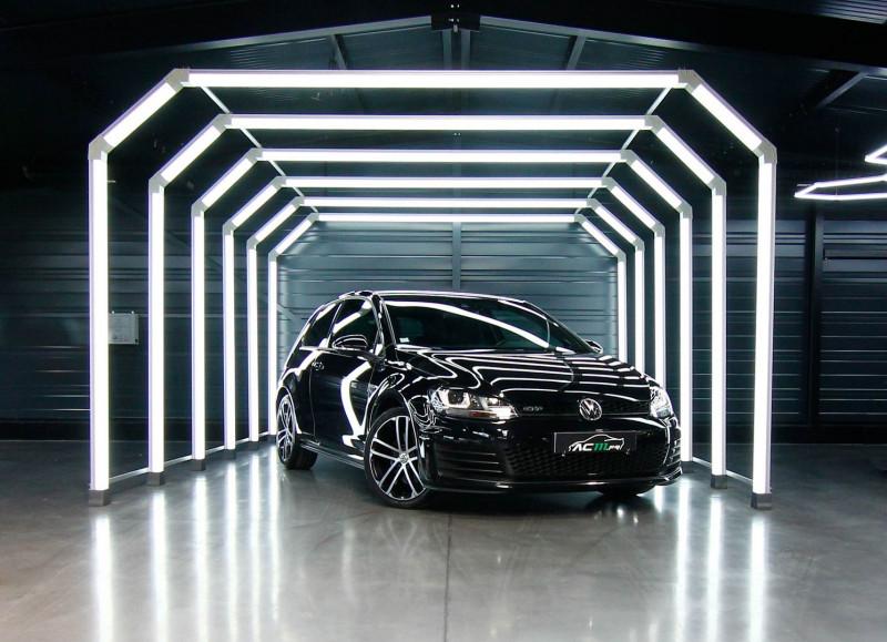 Volkswagen GOLF VII 2.0 TDI 184CH BLUEMOTION TECHNOLOGY FAP GTD DSG6 3P Diesel NOIR Occasion à vendre