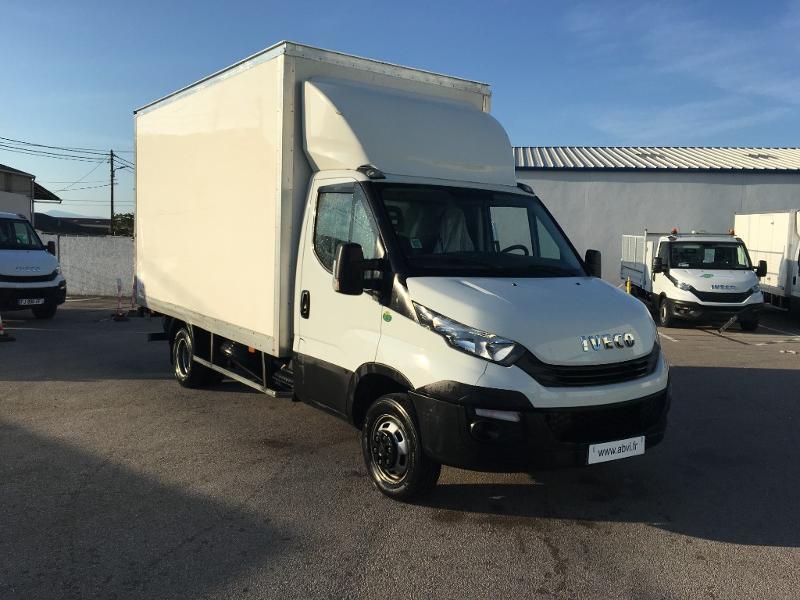 Iveco 35c15 CAISSE HAYON SORENSEN AUVENT DEFLECTEUR CLIM REGULATEUR Diesel Blanc Occasion à vendre