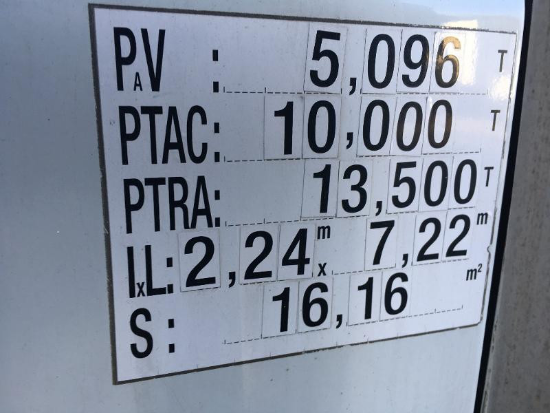Photo 2 de l'offre de IVECO Ml 100E18 - FRIGO + HAYON à 8400€ chez ABVI Béziers
