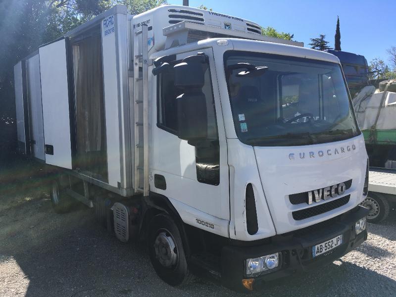 Photo 14 de l'offre de IVECO Ml 100E18 - FRIGO + HAYON à 8400€ chez ABVI Béziers