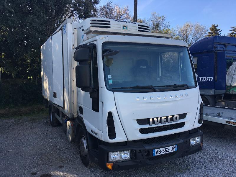 Iveco Ml 100E18 - FRIGO + HAYON Diesel blanc Occasion à vendre