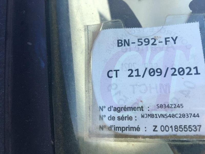 Photo 5 de l'offre de IVECO Trakker 19T 310CH BVM BIBENNE 4.8x2.3x0.65 RIDELLE GAUCHE HYDRAULIQUE PTR 40T à 42000€ chez ABVI Béziers