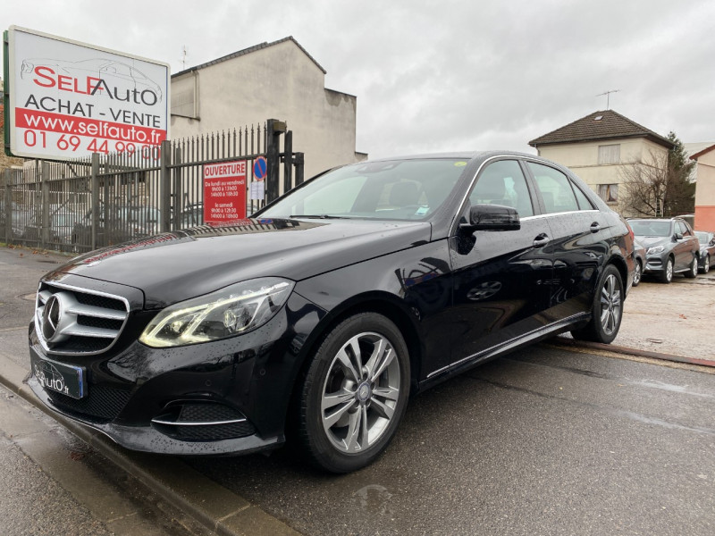 Mercedes-Benz CLASSE E (W212) 350 BLUETEC EXECUTIVE 4MATIC 7G-TRONIC+ Diesel NOIR Occasion à vendre