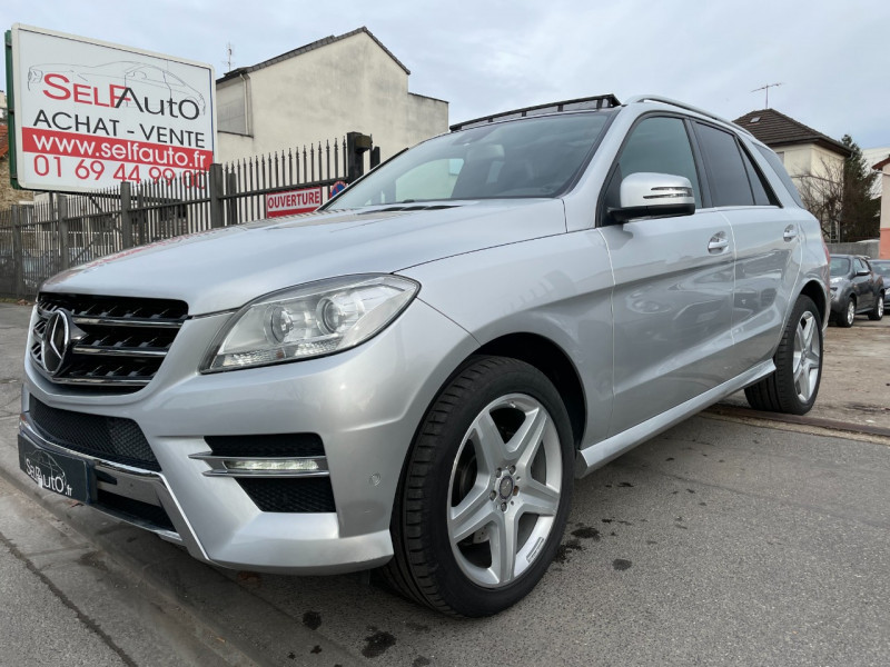 Mercedes-Benz CLASSE ML (W166) 350 BLUETEC FASCINATION 7G-TRONIC + Diesel GRIS C Occasion à vendre