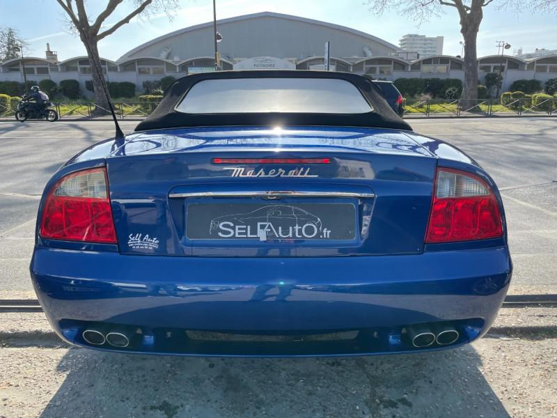 Photo 12 de l'offre de MASERATI SPYDER 4.2 CAMBIOCORSA à 37400€ chez SELF AUTO