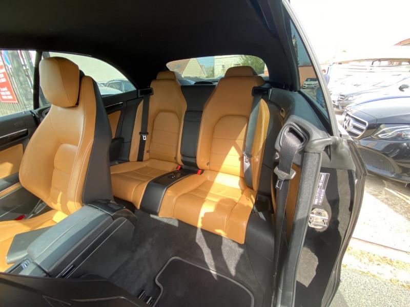 Photo 6 de l'offre de MERCEDES-BENZ CLASSE E CABRIOLET (A207) 200 CGI EXECUTIVE BE BA à 17500€ chez SELF AUTO