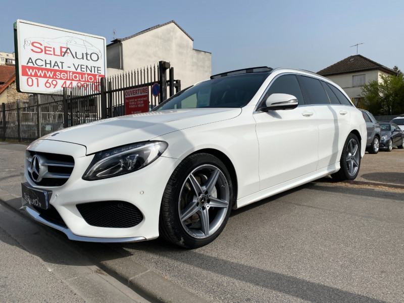 Photo 1 de l'offre de MERCEDES-BENZ CLASSE C BREAK (S205) 200 D 2.2 SPORTLINE 9G-TRONIC à 17390€ chez SELF AUTO