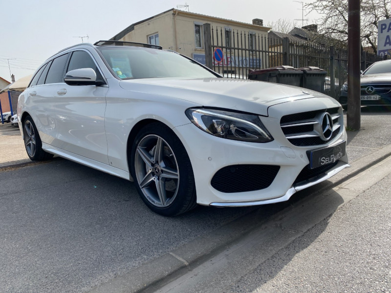 Photo 3 de l'offre de MERCEDES-BENZ CLASSE C BREAK (S205) 200 D 2.2 SPORTLINE 9G-TRONIC à 17390€ chez SELF AUTO