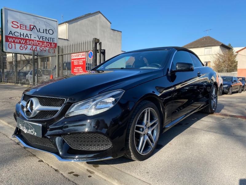 Mercedes-Benz CLASSE E CABRIOLET (A207) 400 333CH SPORTLINE 7G-TRONIC PLUS Essence NOIR Occasion à vendre