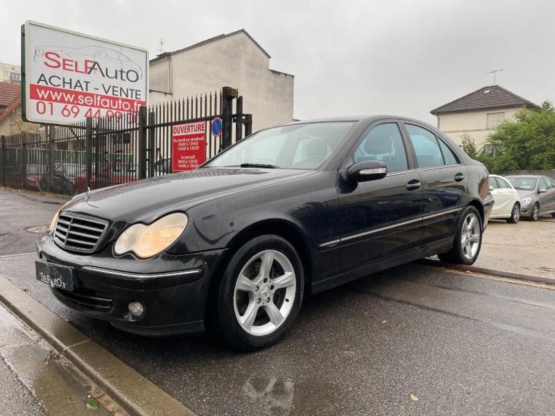 Mercedes-Benz CLASSE C (W203) 270 CDI AVANTGARDE BA Diesel NOIR Occasion à vendre