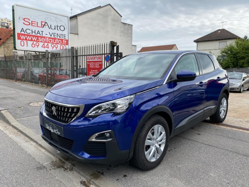 Peugeot 3008 1.5 BLUEHDI 130CH E6.C ACTIVE BUSINESS S&S EAT8 Diesel BLEU F Occasion à vendre