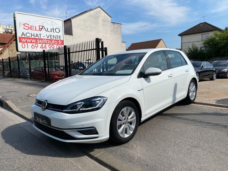 Volkswagen GOLF VII 1.5 TSI EVO 130CH CONFORTLINE EURO6D-T 5P Essence BLANC Occasion à vendre