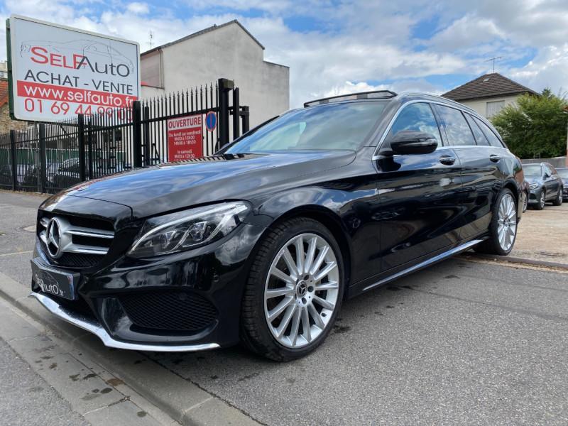 Mercedes-Benz CLASSE C BREAK (S205) 220 D SPORTLINE 9G-TRONIC Diesel NOIR Occasion à vendre
