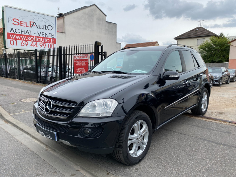 Mercedes-Benz CLASSE ML (W164) 280 CDI PACK LUXE Diesel NOIR Occasion à vendre