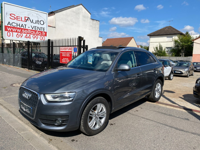 Audi Q3 2.0 TDI 140CH AMBITION LUXE Diesel GRIS F Occasion à vendre