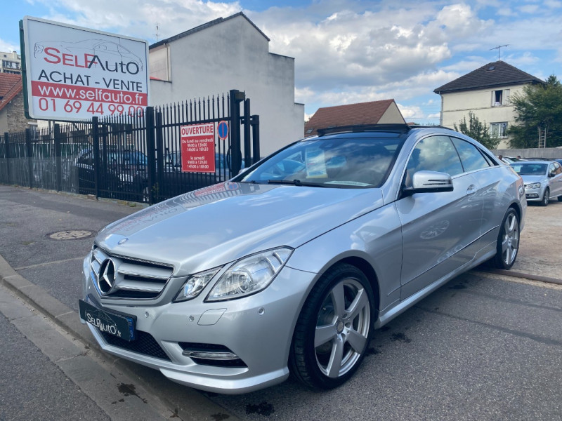 Mercedes-Benz CLASSE E COUPE (C207) 350 CDI BE EXECUTIVE 7GTRO+ Diesel GRIS Occasion à vendre