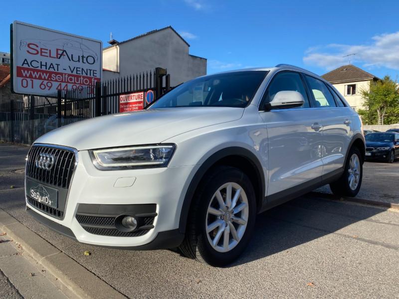 Audi Q3 2.0 TDI 140CH AMBIENTE Diesel BLANC Occasion à vendre