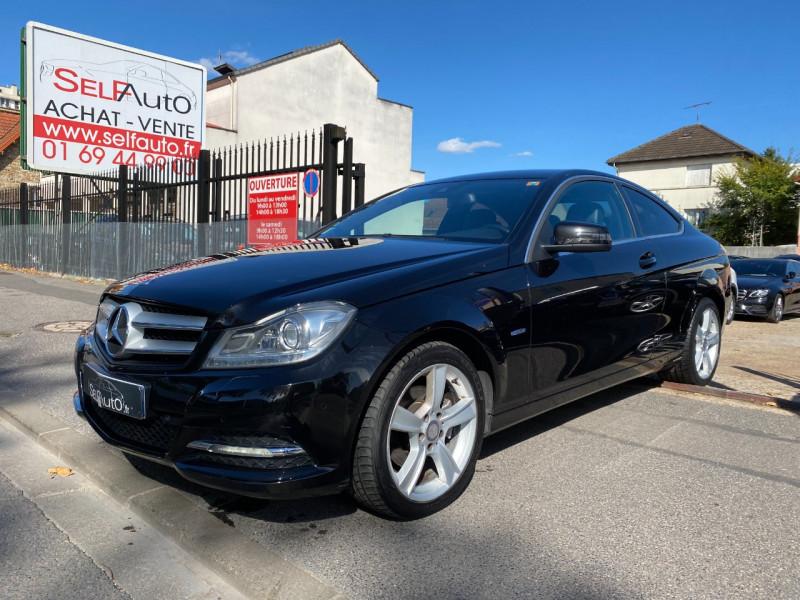 Mercedes-Benz CLASSE C COUPE (C204) 220 CDI EXECUTIVE 7GTRONIC Diesel NOIR Occasion à vendre