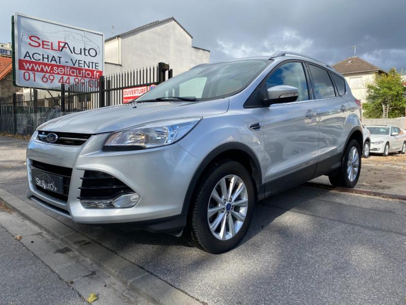 Ford KUGA 2.0 TDCI 150CH TITANIUM Diesel GRIS C Occasion à vendre