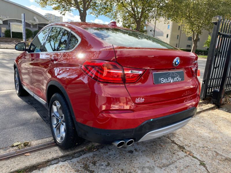 Photo 13 de l'offre de BMW X4 (F26) XDRIVE30DA 258CH XLINE à 23900€ chez SELF AUTO