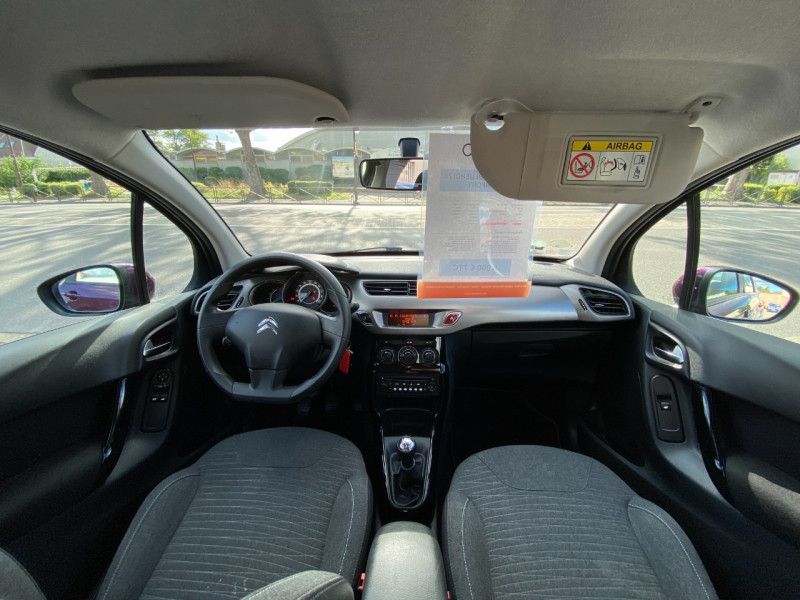 Photo 8 de l'offre de CITROEN C3 BLUEHDI 75 CONFORT à 5990€ chez SELF AUTO