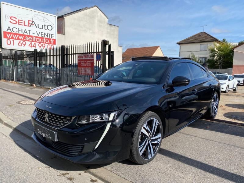 Peugeot 508 BLUEHDI 180CH S&S GT EAT8 Diesel NOIR Occasion à vendre