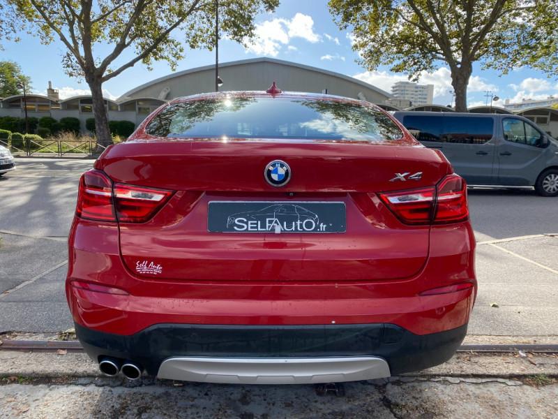 Photo 14 de l'offre de BMW X4 (F26) XDRIVE30DA 258CH XLINE à 23900€ chez SELF AUTO