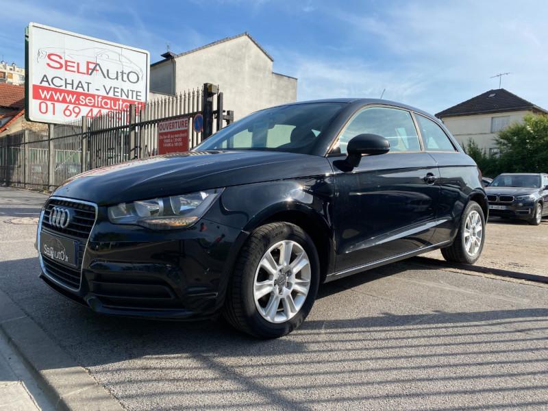Audi A1 1.6 TDI 90CH FAP ATTRACTION Diesel NOIR Occasion à vendre