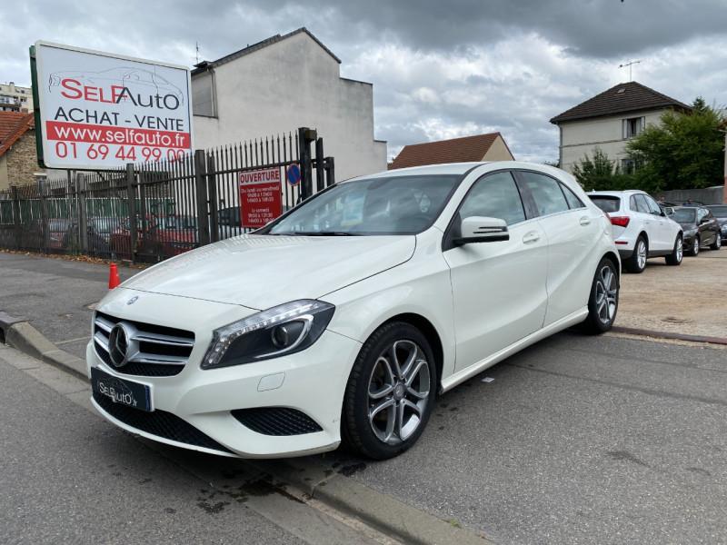 Mercedes-Benz CLASSE A (W176) 200 CDI SENSATION Diesel BLANC Occasion à vendre